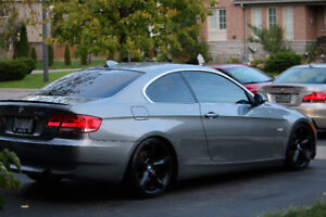 2008 BMW 335i Coupe - Space Grey + Saddle Brown Interior