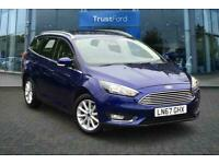 2017 Ford Focus 1.0 EcoBoost 125 Titanium Navigation 5dr Auto One owner with ful