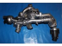 Twin Turbocharger VW TRANSPORTER T5 CFCA 2.0 TDI