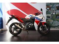 2015 15 HONDA CBR 125 R-F HRC COLOURS