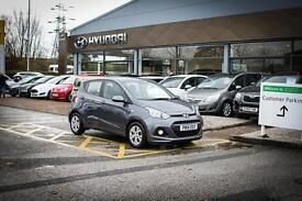 2014 14 HYUNDAI I10 1.0 SE 5dr in Grey