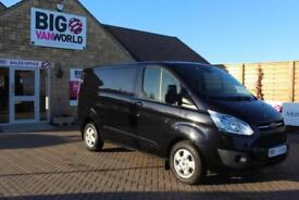 2015 FORD TRANSIT CUSTOM 290 TDCI 125 L1 H1 LIMITED SWB LOW ROOF FWD VAN SWB DIE
