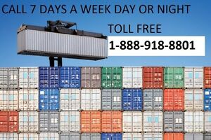 ACCURATE SHIPPING CONTAINERS FOR STORAGE North Bay