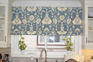 Custom Draperies, sewing, cushions, upholstery, bedding and more