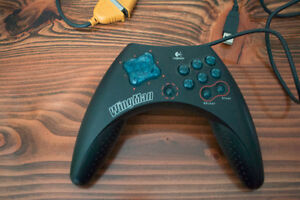 Logitech Wingman Gamepad PC computer gamepad joystick