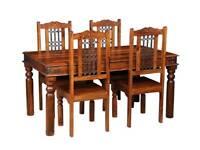 Jali Hard Wood Dining Table