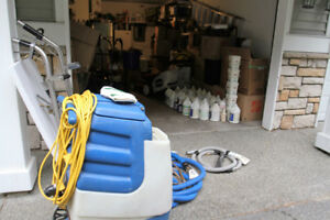 300 psi Carpet Extractor w/heater...Eager to sell