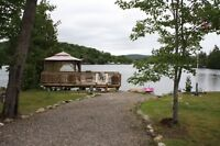 Cottage/Camp on beautiful Lower Island Lake with guest cabin