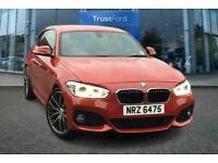 2018 BMW 1 Series 116d M Sport 3dr [Nav/Servotronic] **Immaculate car, Alloys o