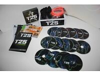 Complete T25 Workout DVD's - Still boxed.