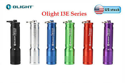OLIGHT I3E EOS Every Day Carry Keychain 90lm Mini LED Flashlight w/ AAA Battery - Keychain Flashlights