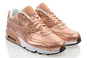 Scarpe-NUOVO-Nike-Air-Max-90-SE-Ltr-Gs-Scarpe-Donna-Esclusivo-Sneaker-ORIGINALE