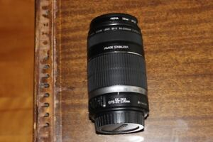 Objectif Canon EF-S Lens 55-250mm