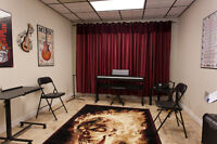 Classroom Studio Space Available for Rent for Music Teachers