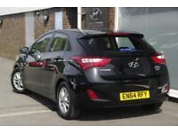 2015 Hyundai i30 1.6 CRDi Active (110 PS) Diesel black Automatic