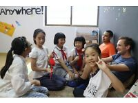 Summer teaching job in China