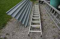 12' ALUMINUN EXTENSION LADDER