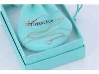 Tiffany Diamonds by the Yard necklace and Bracelet set