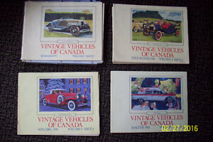 VINTAGE VEHICLES OF CANADA & THE REFLECTOR MAGAZINES