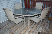 Patio Table with 6 Chairs for Sale