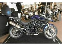 TRIUMPH TIGER 800 LOW MILES, LOTS OF ACCESSORIES