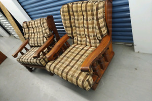 Vintage rocking and room chairs