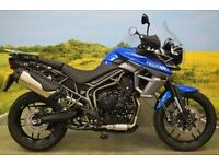 Triumph Tiger 800 XRX 2015**2902 MILES, ABS, TRACTION CONTROL, COMFY SEAT**