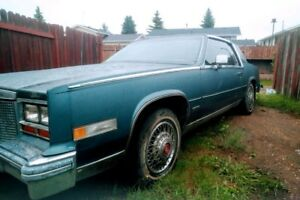 Classic 2 Door Cadillac Biarritz Restoration only $600