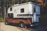 8' Overhead Camper For Sale