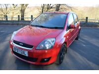 Ford Fiesta Zetec Climate 1.4TDCi068 ** 6 MONTH WARRANTY ** (red) 2008