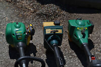 Gas Grass Trimmers for Parts or Refurbish