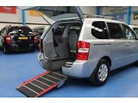 Kia Sedona LS CRDi auto Wheelchair accessible vehicle mobility car Auomatic