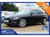 2013 05 BMW 3 SERIES 2.0 320D LUXURY 4D AUTO 184 BHP DIESEL