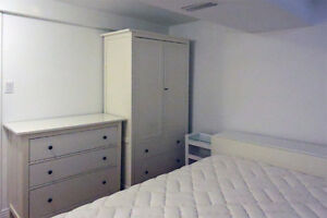 FURNISHED CLEAN BASEMENT ONE BEDROOM ONE LIVING ROOM FOR RENT
