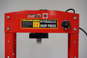50 Ton Shop Press with Hydraulic Pack London Ontario image 2