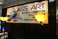 Glass Art by Bill Hampton