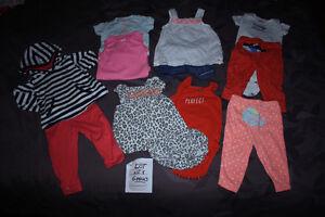 Lot de vêtements fille en 6 mois CARTER