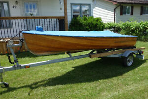 2011 Giesler 12ft Cedar Strip Boat For Sale! NEAR MINT