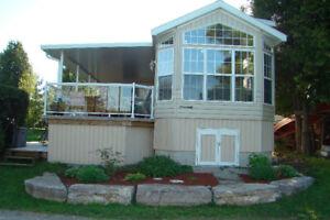 Park Model trailer cottager
