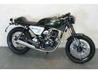HANWAY HC 125 CAFE RACER E4 BRAND NEW, NATIONWIDE DELIVERY.