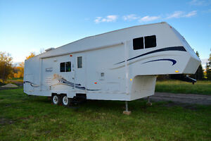 Well- Maintained 2006 Frontier by Vanguard 280SL 5th Wheel