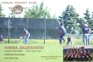 Ontario's Leading Cricket Club - Eagles