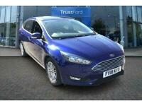 2018 Ford Focus 1.0 EcoBoost 125 Zetec Edition 5dr Automatic with Satellite Nav