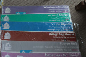 Sailing charts for Caribbean