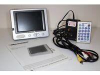 "Roadstar 5"" TFT LCD Video Monitor - Mains/battery/12v"