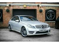 2013 Mercedes-Benz C-CLASS 2.1 C200 CDI BLUEEFFICIENCY AMG SPORT 4d AUTO 135 BHP