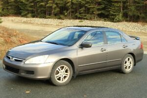 Honda Accord Sedan with INSPECTION CERTIFICATe