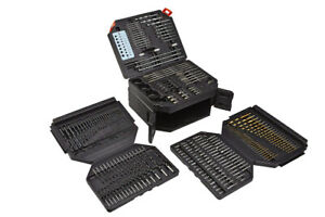300-Piece Drill & Screwdriver Bit Accessory Kit