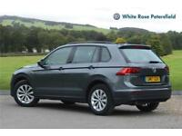 2017 Volkswagen Tiguan SWB S 2.0 TDI 2WD 150PS 6-Speed Manual 5 Door Diesel grey