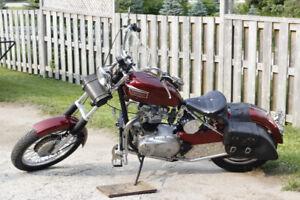 1968 650 Triumph  Motorcycle